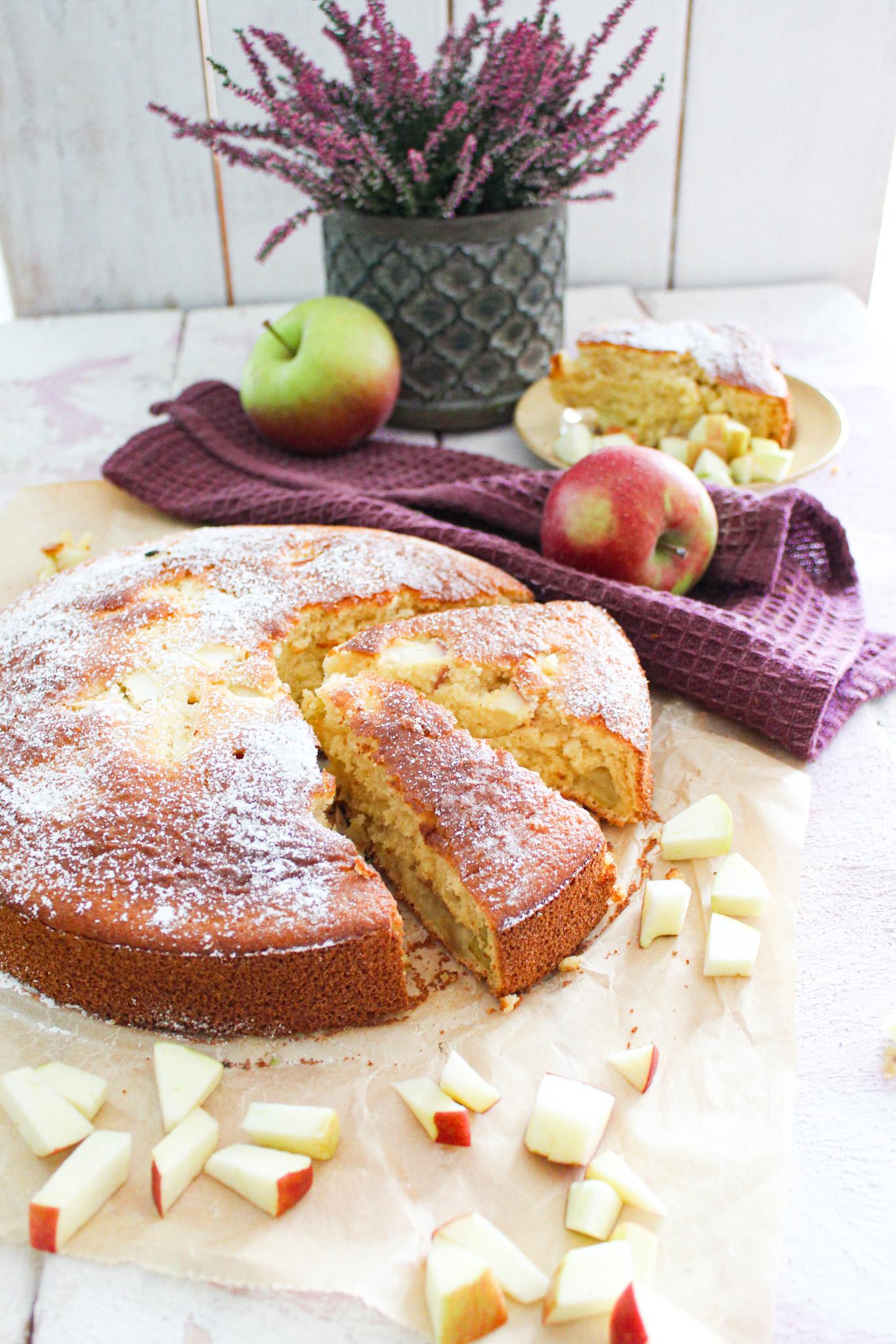 Fluffiger Apfelkuchen